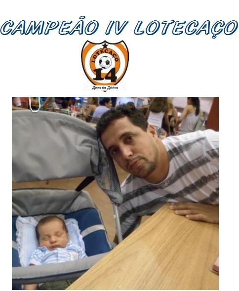 CAMPEÃO 4° LOTECAÇO