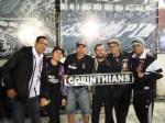 Fabio, Arielly, Juninho, Xandy, Sandro e Adriano no SAUDOSO CAFOFO
