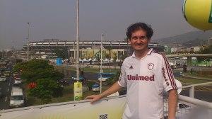 Botequeiros Ueides chegando ao Maracanã.