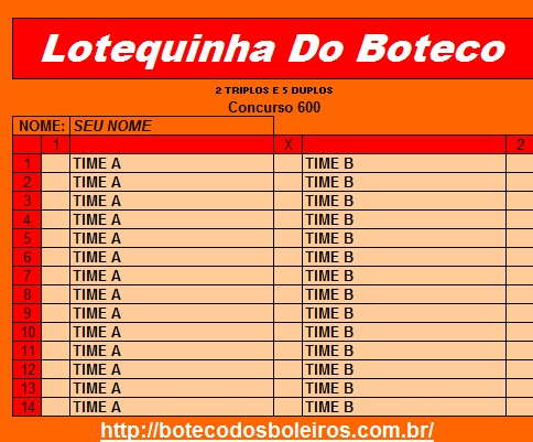 Lotequinha Do Boteco