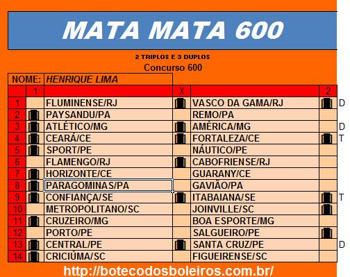 Henrique Lima 600