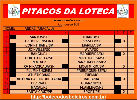 PITACOS 638