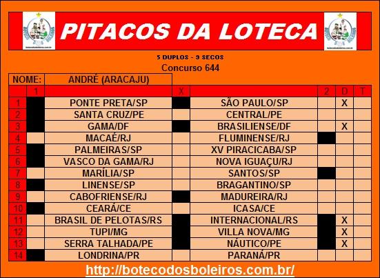PITACOS 644