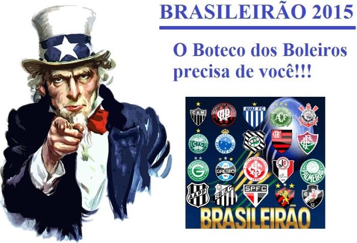 Brasileirão 2015 - boteco dos boleiros