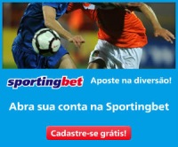 "Aposte ""ao vivo"" no SPORTINGBET"